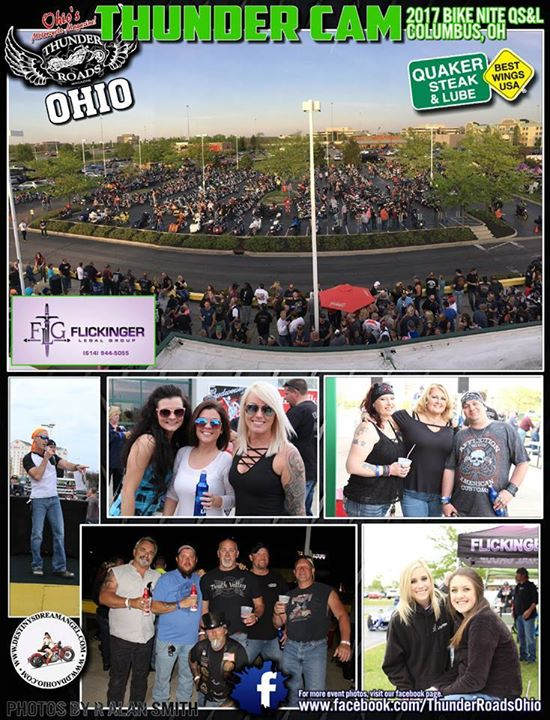 Quaker Steak bike night- Motorcycle Accident Attorney