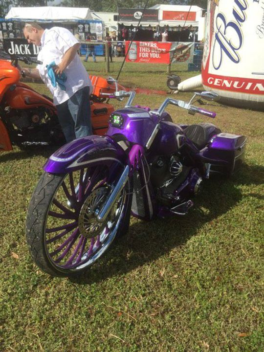 Cabbage Patch show today! Fun, music and bikes at Biketoberfest in Daytona!